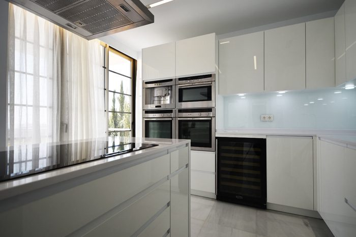 Luxury kitchen: proyect1