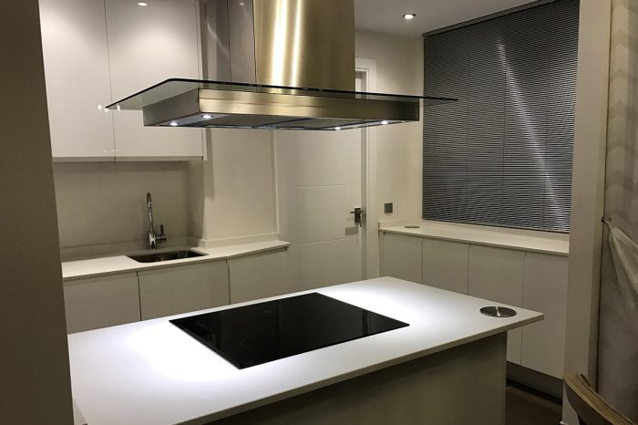 Luxury kitchen: proyect 3