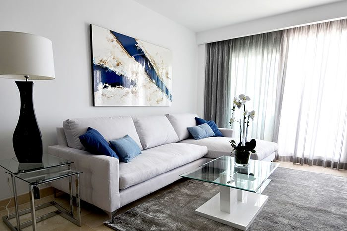 Interior design living room, diseño de interiores salon | la floresta @mobiledis.com